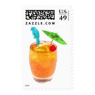 Mai Tai One On Stamp