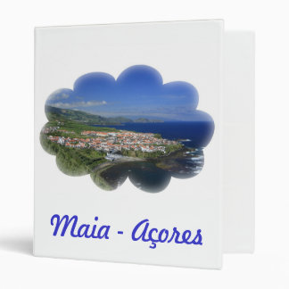 Maia - Azores 3 Ring Binder