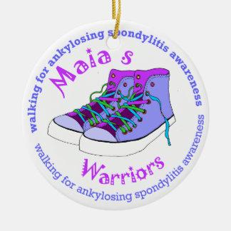 Maia's Warriors Ceramic Ornament