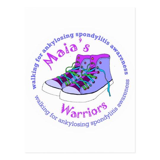 Maia's Warriors Postcard