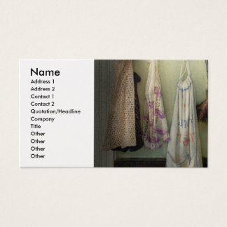 Maid - Always so much housework Business Card