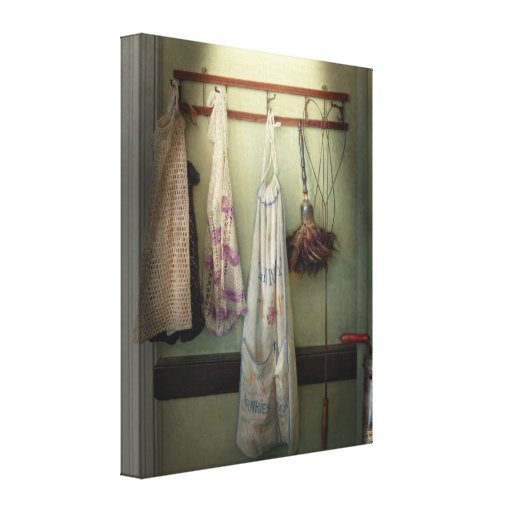 Maid - Always so much housework Gallery Wrap Canvas