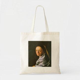 Maid by Johannes Vermeer Tote Bag