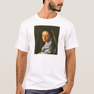 Maid by Johannes Vermeer T-Shirt