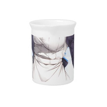 Maid By The Beach Beverage Pitcher