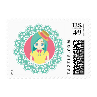 Maid Cafe #01 Postage Stamp