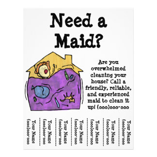 Maid Flyer