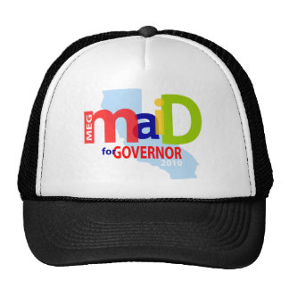 Maid for Governor Cap Trucker Hat