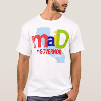 Maid for Governor Tee
