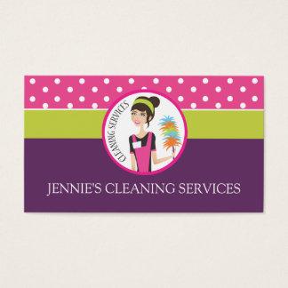 Maid / Housekeeper Business Card