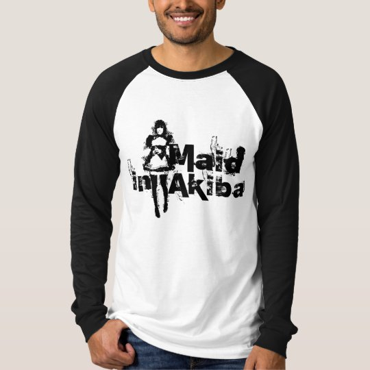 Maid in Akiba Basic Long Sleeve Raglan Shirts