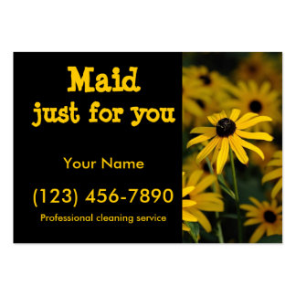 Maid just for you large business cards (Pack of 100)