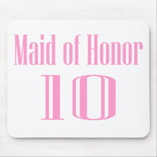 Maid Of Honor 10 Mouse Pad