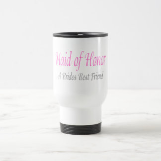 Maid Of Honor (A Brides Best Friend) 15 Oz Stainless Steel Travel Mug