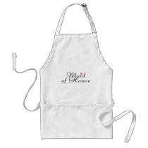 Maid Of Honor Adult Apron