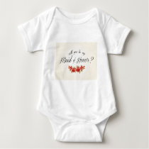 Maid of Honor Baby Bodysuit