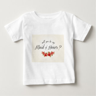Maid of Honor Baby T-Shirt