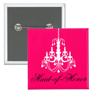 Maid-of-Honor Bachelorette Party Button