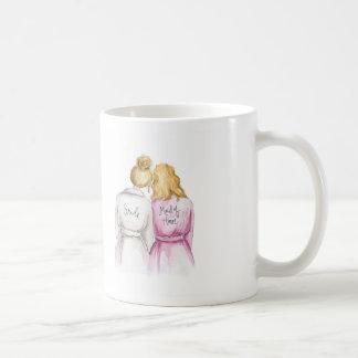 Maid of Honor? Bl Bun Bride Bl Waves Maid Coffee Mug