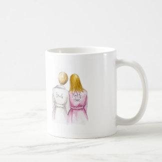 Maid of Honor? Bl Bun Pixie Dk Bl Long Maid Coffee Mug