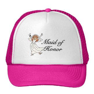 Maid Of Honor Bride Trucker Hat