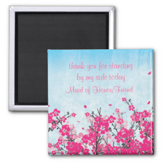Maid of Honor/Bridesmaid Thank You  Magnet
