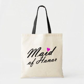 Maid Of Honor Budget Tote Bag