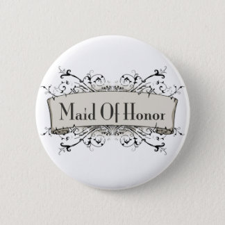 *Maid Of Honor Button