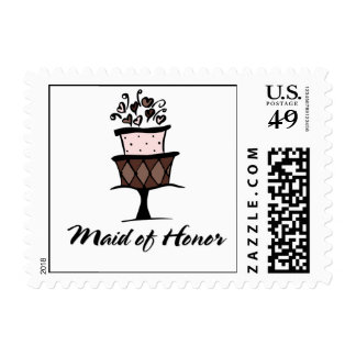 Maid of Honor Cake Stamp