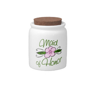 Maid of Honor Candy Dish