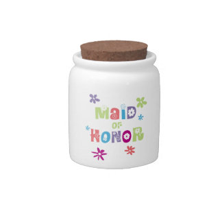 Maid of Honor Candy Dishes