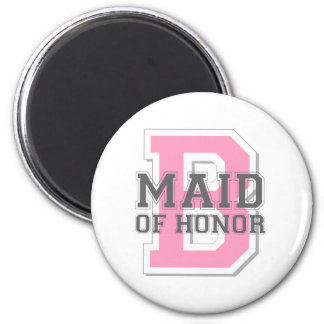 Maid of Honor Cheer Magnet