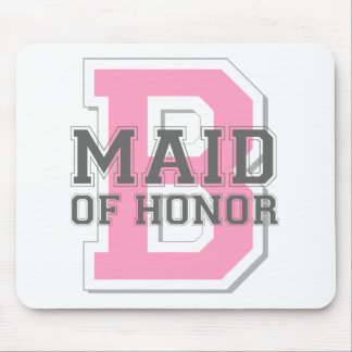 Maid of Honor Cheer Mouse Pad