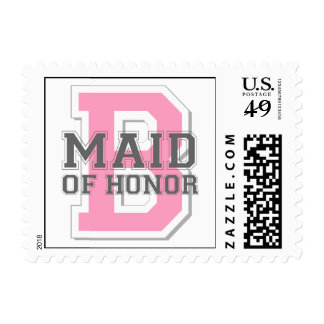 Maid of Honor Cheer Stamps