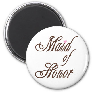 Maid of Honor Classy Browns Magnet