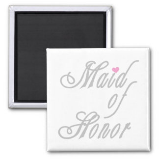 Maid of Honor Classy Grays Magnet
