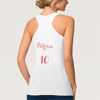 Maid of Honor Custom Name Wedding Date Years Top