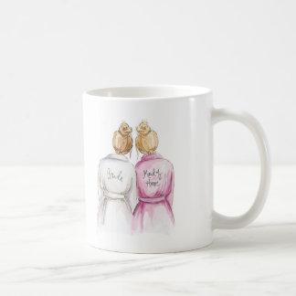 Maid of Honor? Dk Bl Bun Bride Bl Bun Maid Coffee Mug