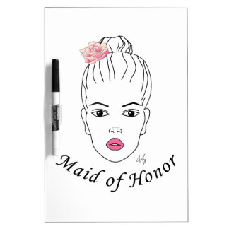 Maid of Honor Dry Erase Board
