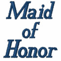 Maid of Honor Embroidered Shirt embroideredshirt