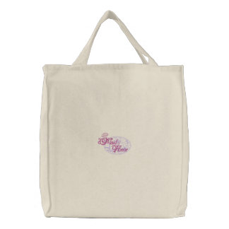 Maid Of Honor Embroidered Tote Bag