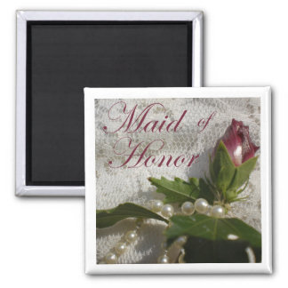 Maid of Honor Favor Magnet
