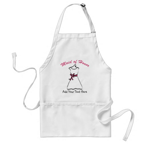 Maid of Honor Favors Aprons