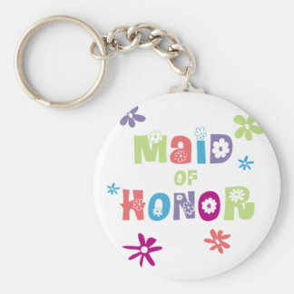 Maid of Honor Favors Key Chain