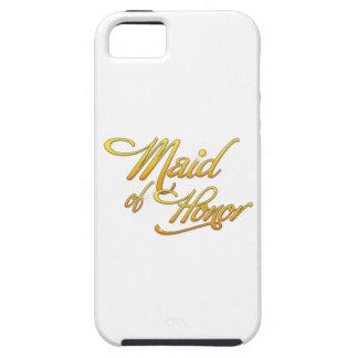 Maid Of Honor iPhone 5 Carcasas