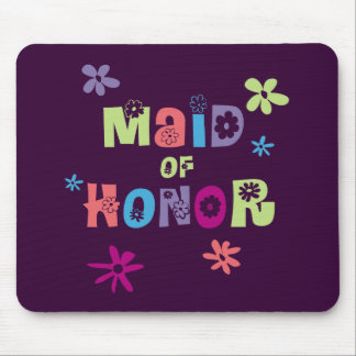 Maid of Honor Gifts and Favors Mouse Pad