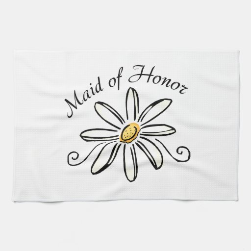 Maid of Honor Hand Towels