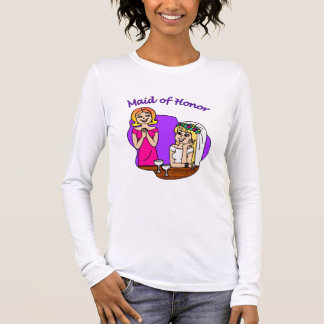 Maid of Honor I Long Sleeve T-Shirt