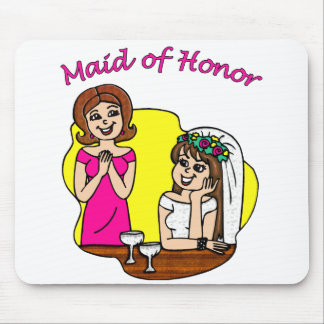 Maid of Honor II Mouse Pad