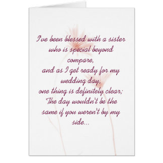 Maid Of Honor Invitation Cards